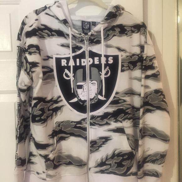 womens raiders sweatshirt